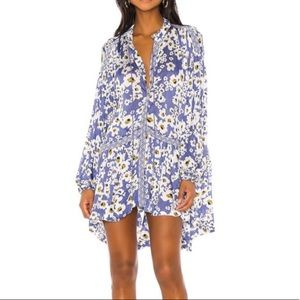 NWT Free People Love Letter Tunic